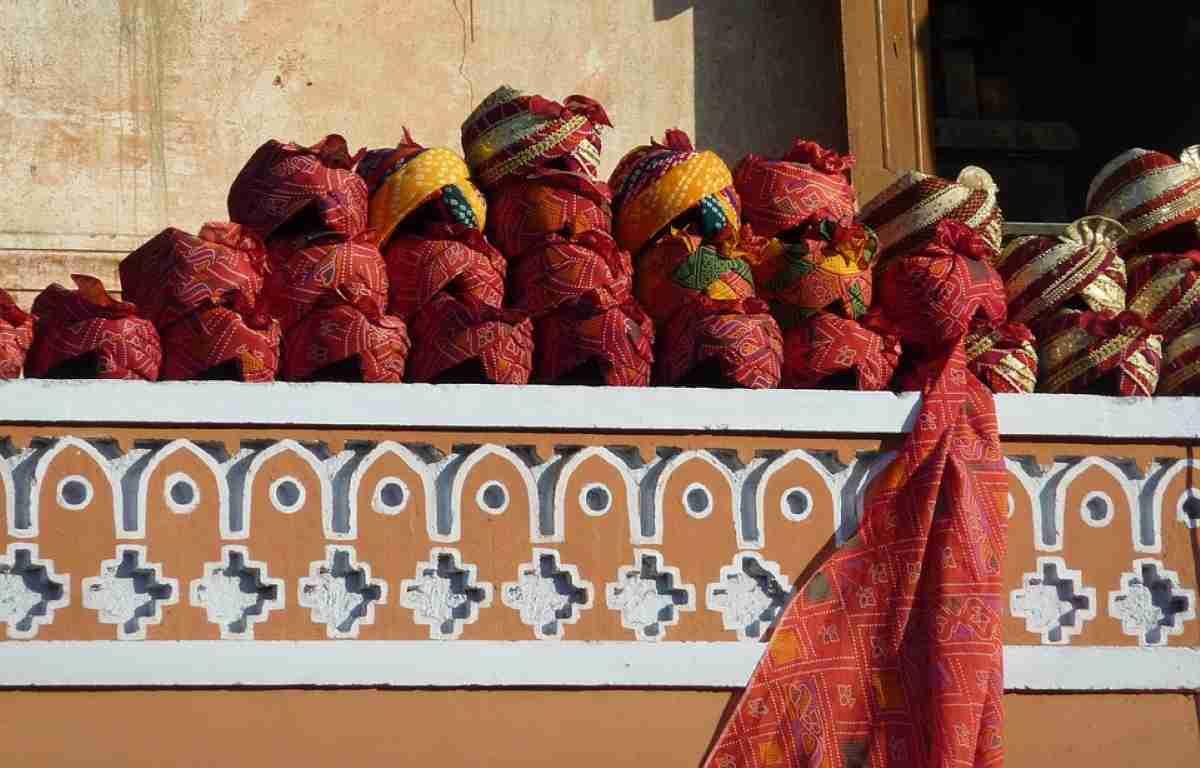 mercado en jaipur india