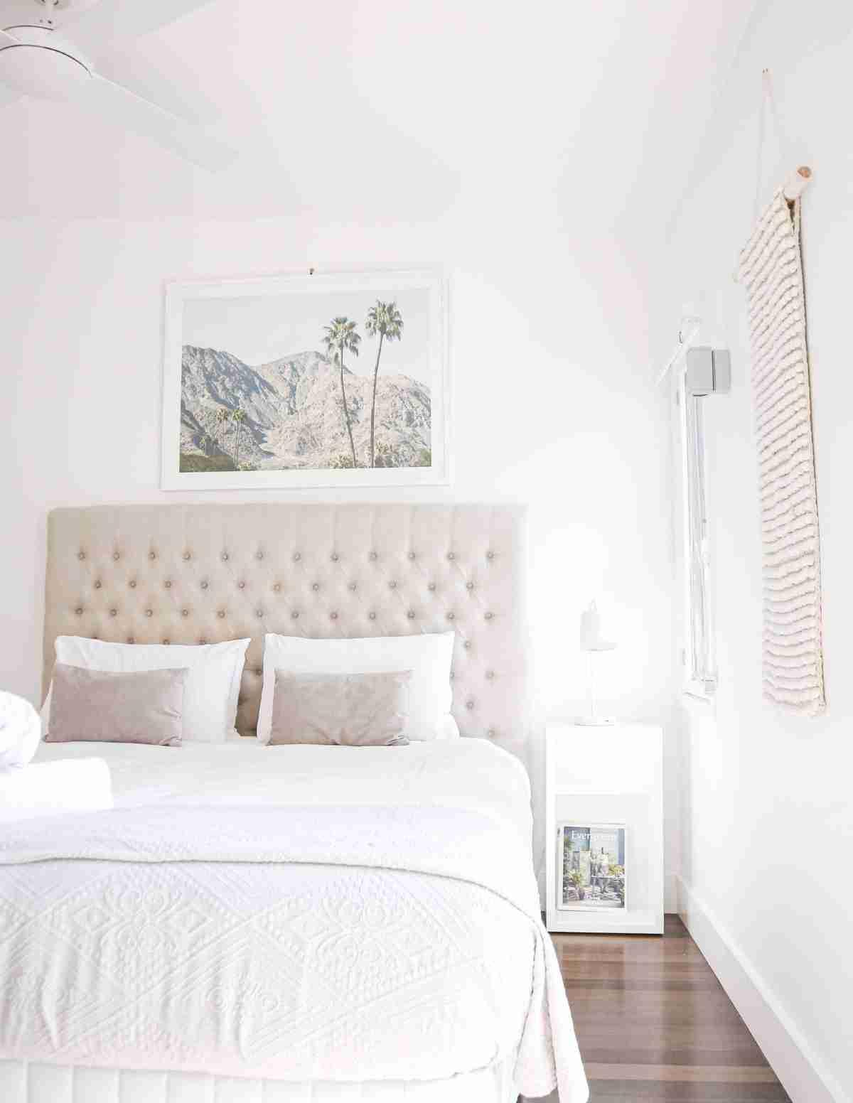 mini dormitorio minimalista