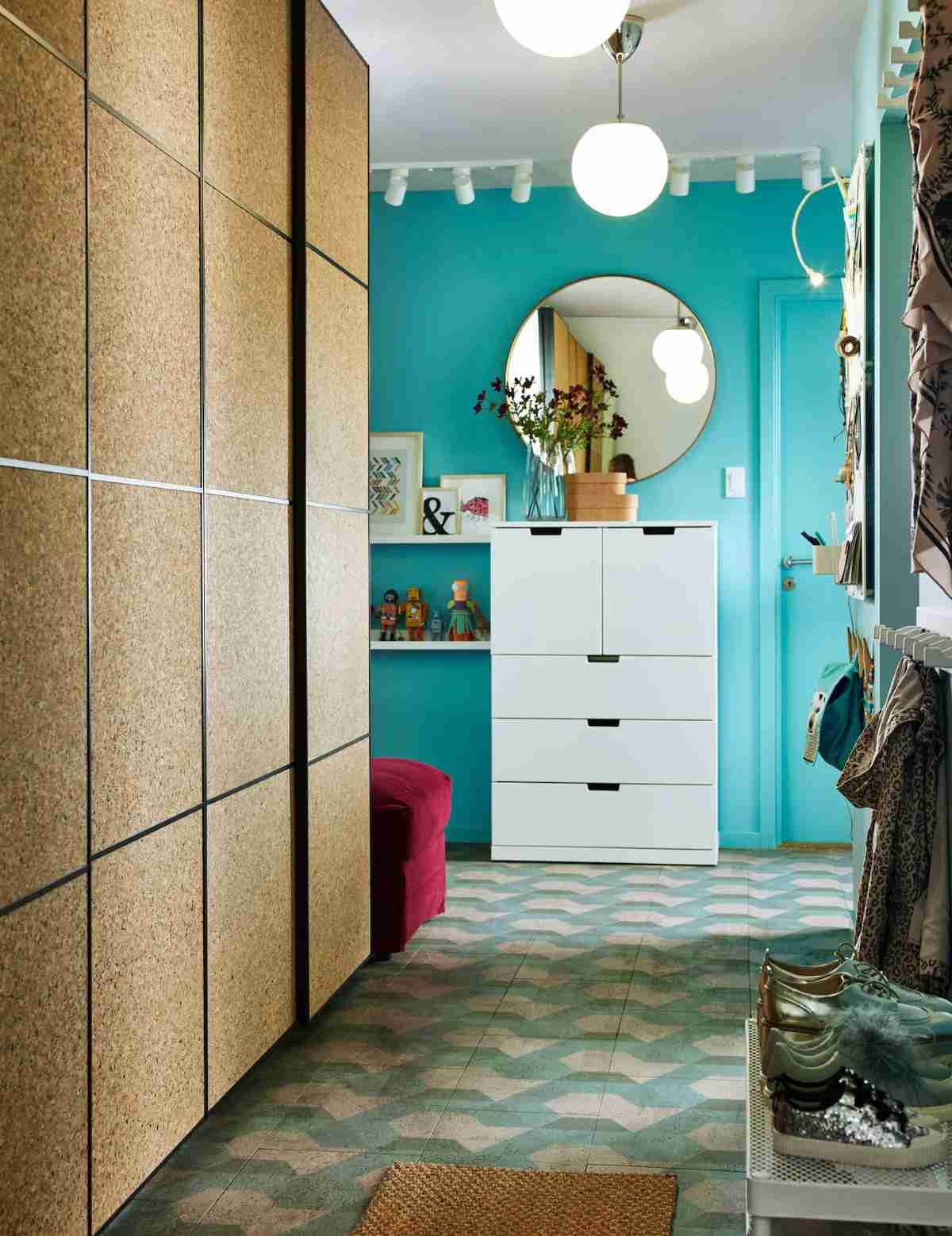 decorar un vestibulo moderno
