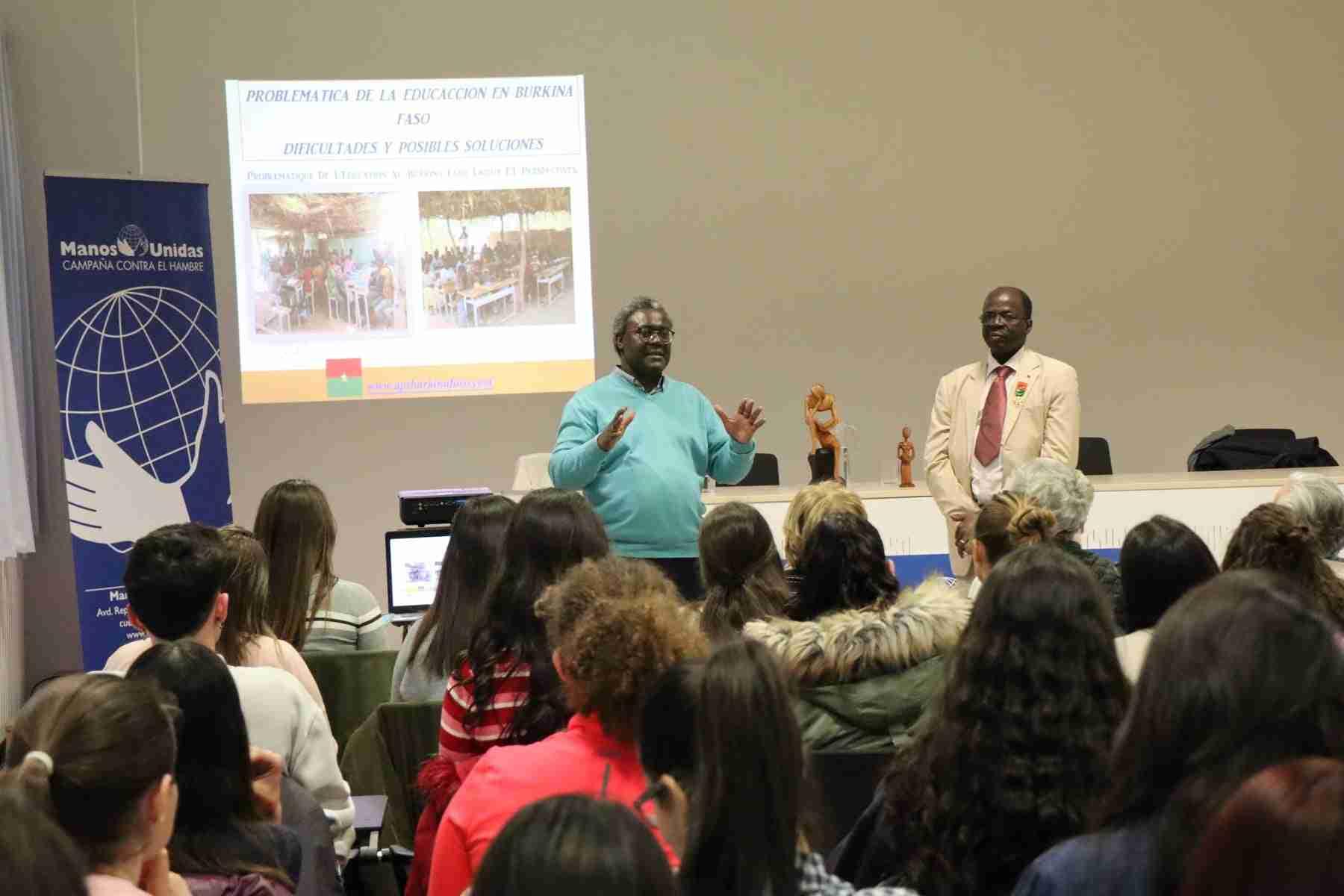 Hamidou Keivin presenta el proyecto de Manos Unidas en Burkina Faso 3