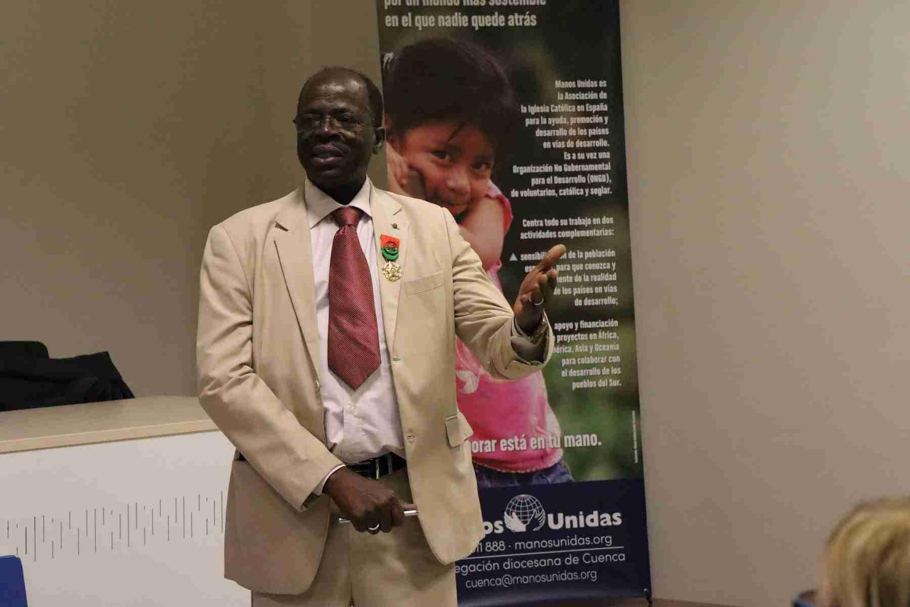 Hamidou Keivin presenta el proyecto de Manos Unidas en Burkina Faso 4