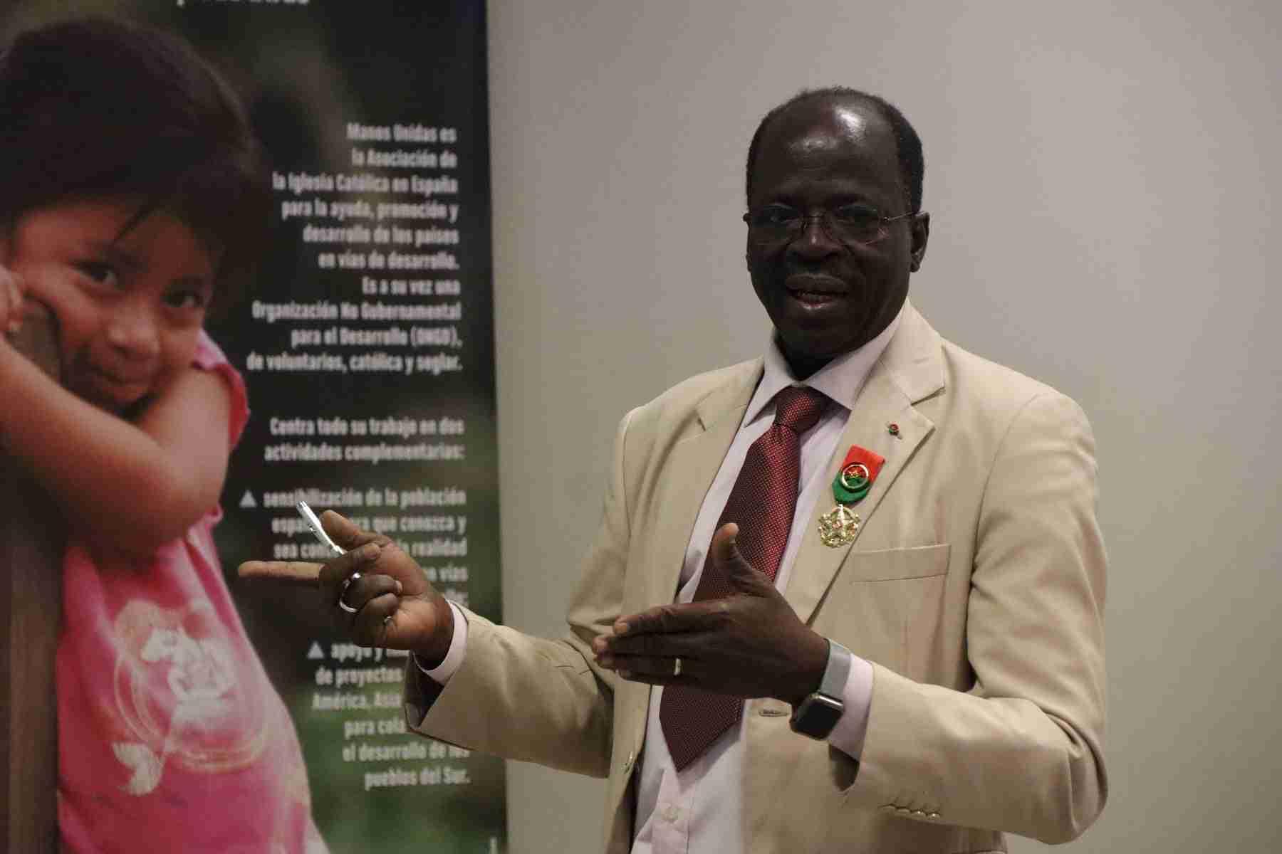 Hamidou Keivin presenta el proyecto de Manos Unidas en Burkina Faso 5