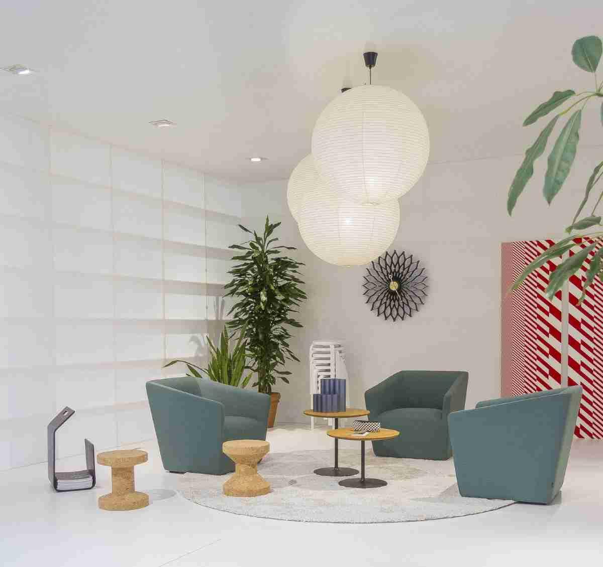 mesas de centro gemelas para pequenos salones