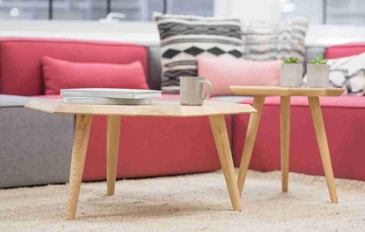 mesas de centro gemelas modernas