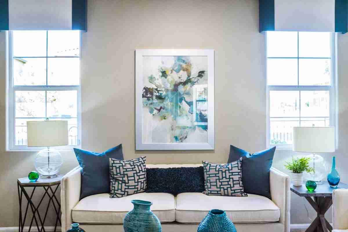 color classic blue en el salon