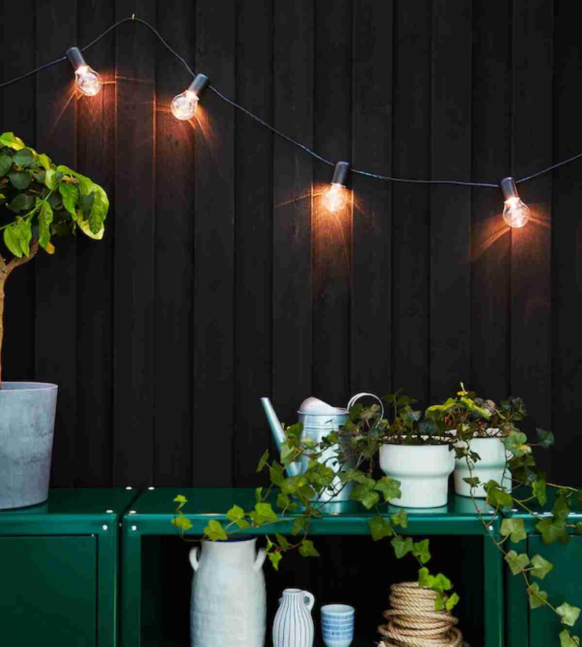 decorar la terraza con ikea