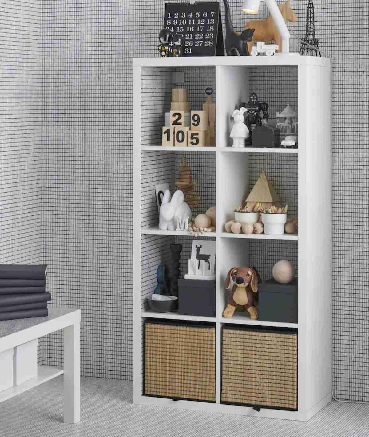 estanterias y baldas de ikea blanca