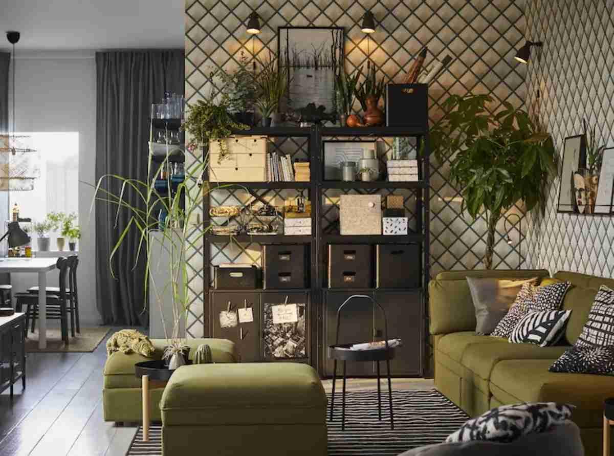 estanterias y baldas de ikea metalicas