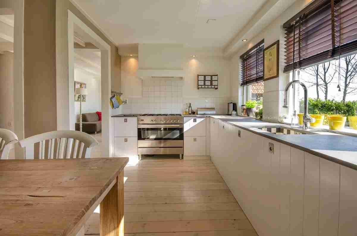 limpiando la cocina ante el covid 19