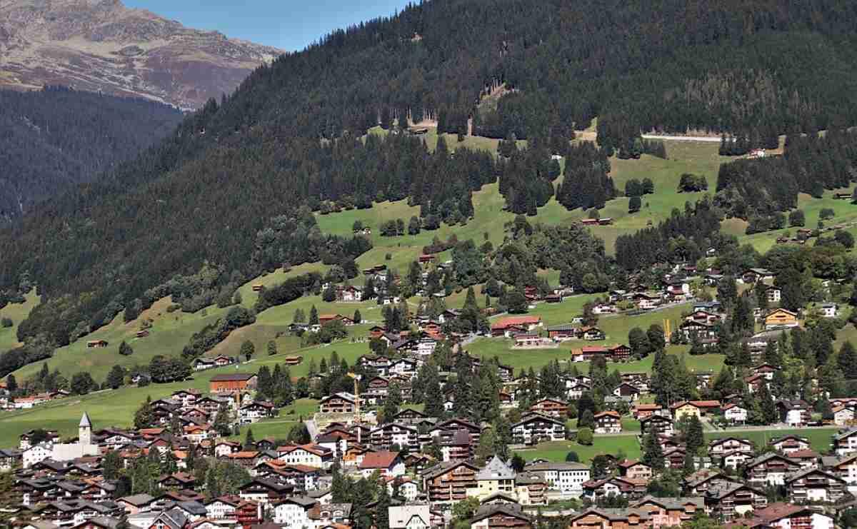 paisaje de Liechtenstein
