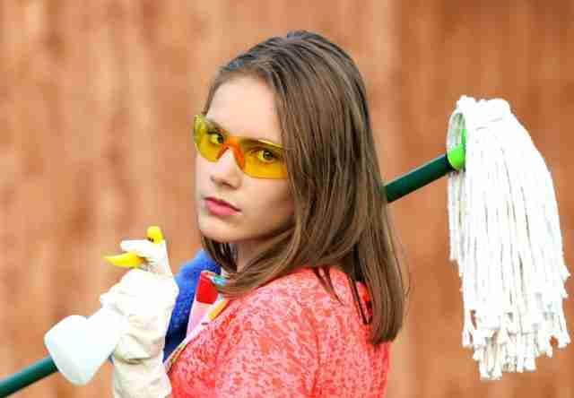 rutinas de limpieza del hogar