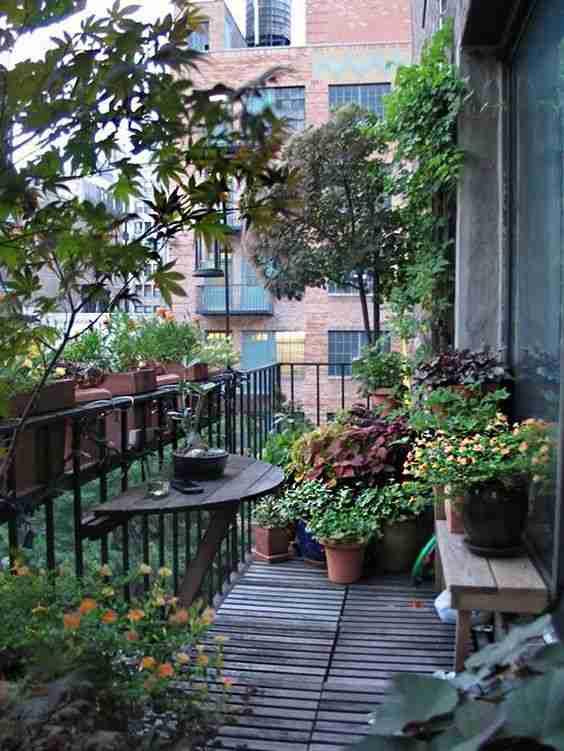 ideas para decorar el balcon X
