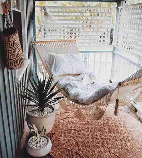 ideas para decorar el balcon VII