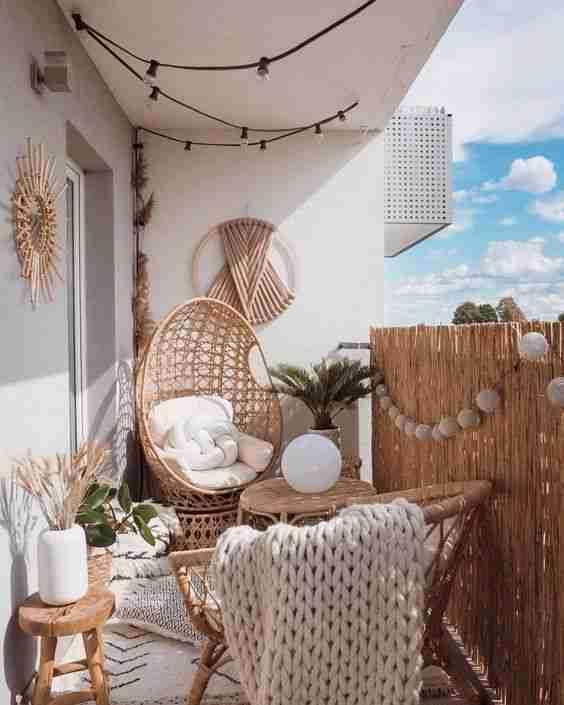 ideas para decorar el balcon V