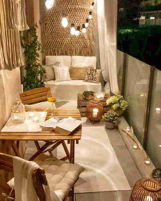 ideas para decorar el balcon IV