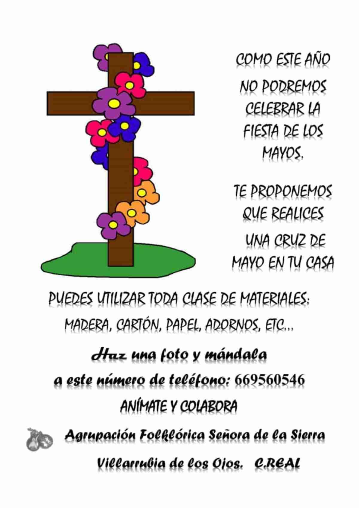 cruces de mayo en villarrubia