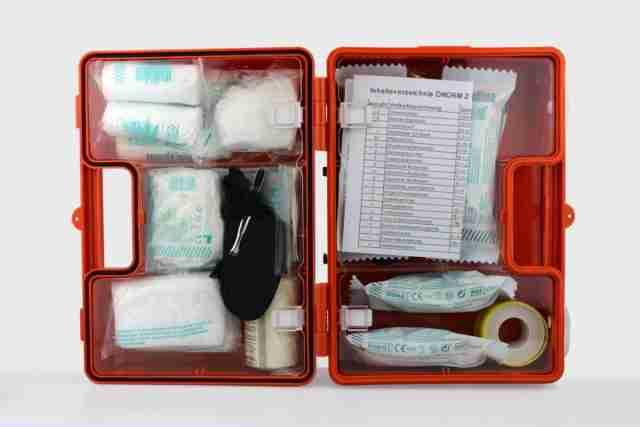 botiquin casero primeros auxilios
