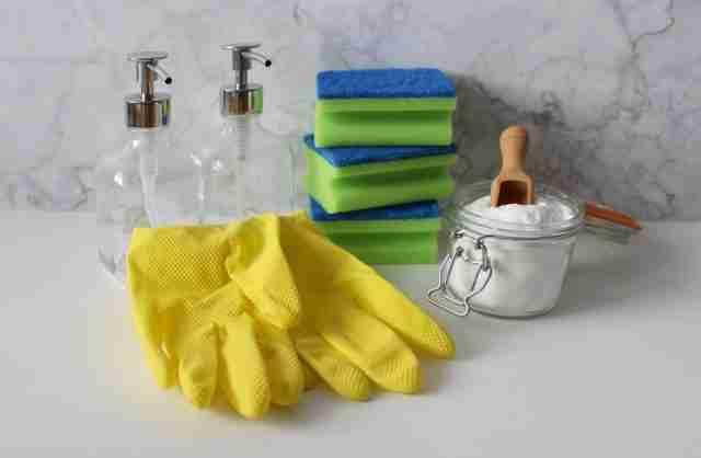 desinfectar con bicarbonato