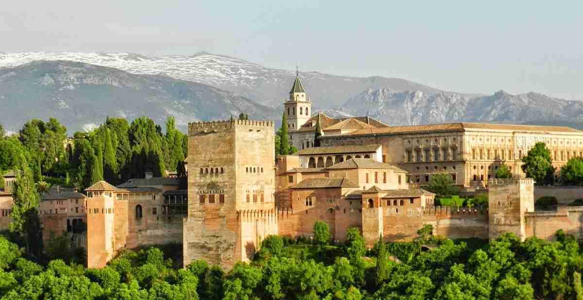 viaje literario por granada alhambra