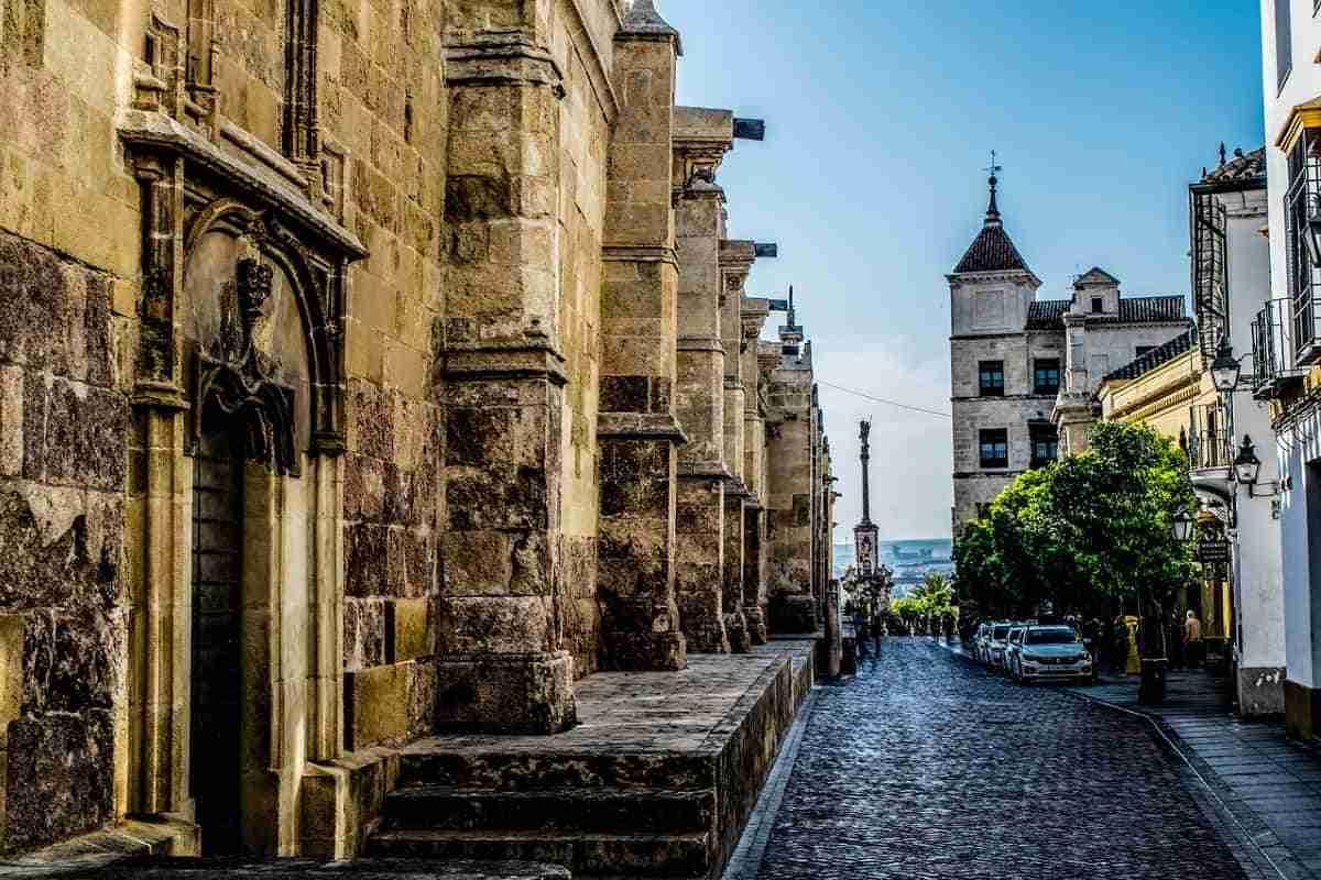 casco historico de la ciudad de cordoba