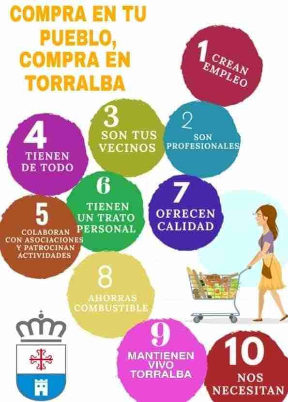 El Ayuntamiento de Torralba busca que los vecinos compren en la localidad