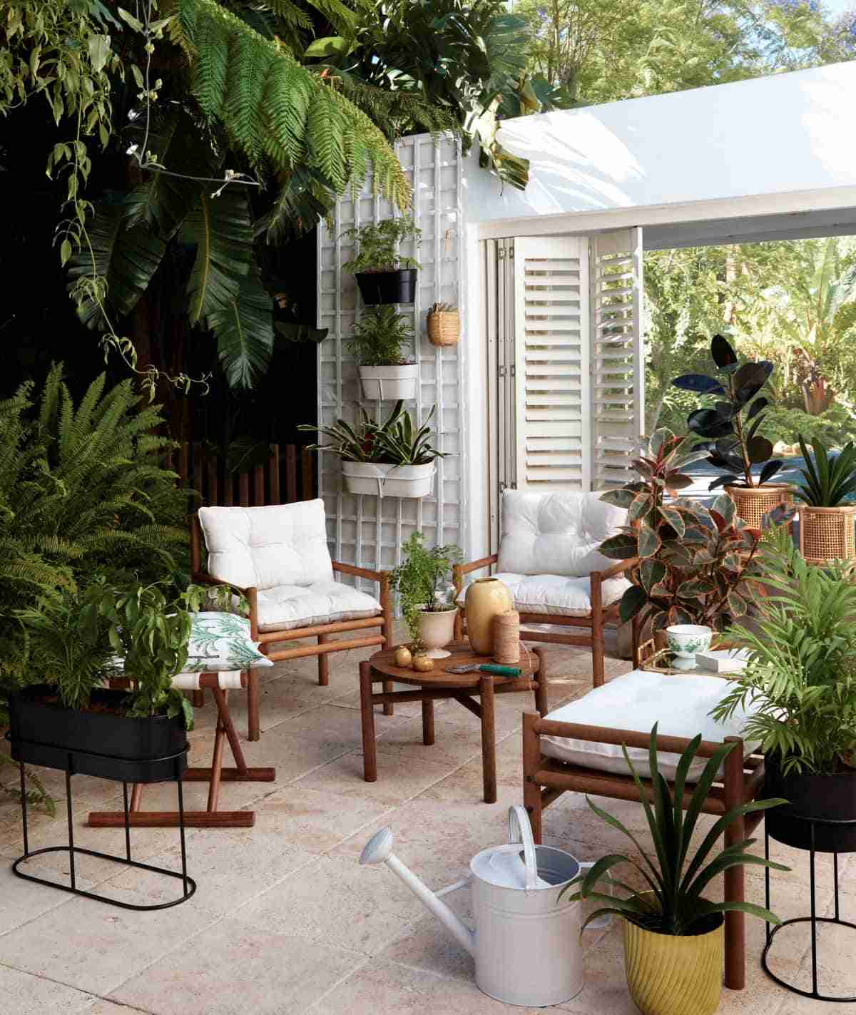 ideas para el balcon y el jardin