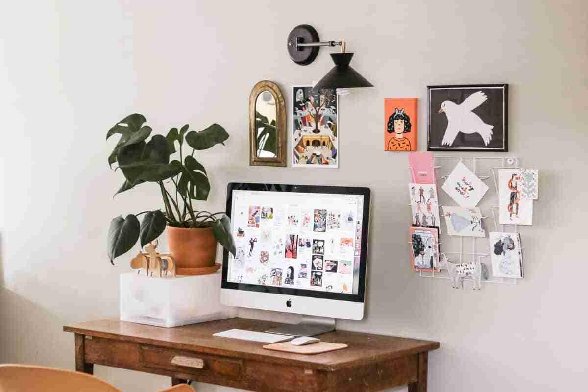 organizar y decorar tu zona de trabajo