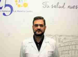 Dr. Lucas Salcedo del Hospital Mancha Centro de Alcázar de San Juan. Foto: El Semanal.