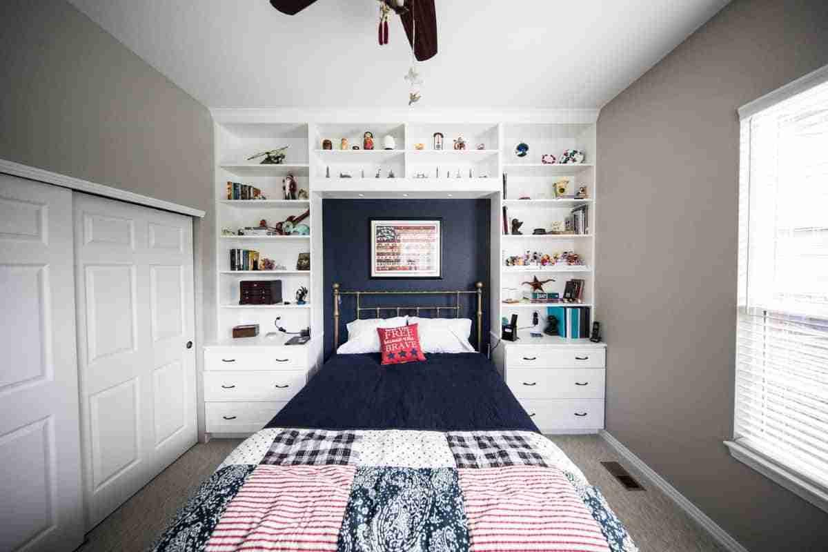 elegante dormitorio femenino