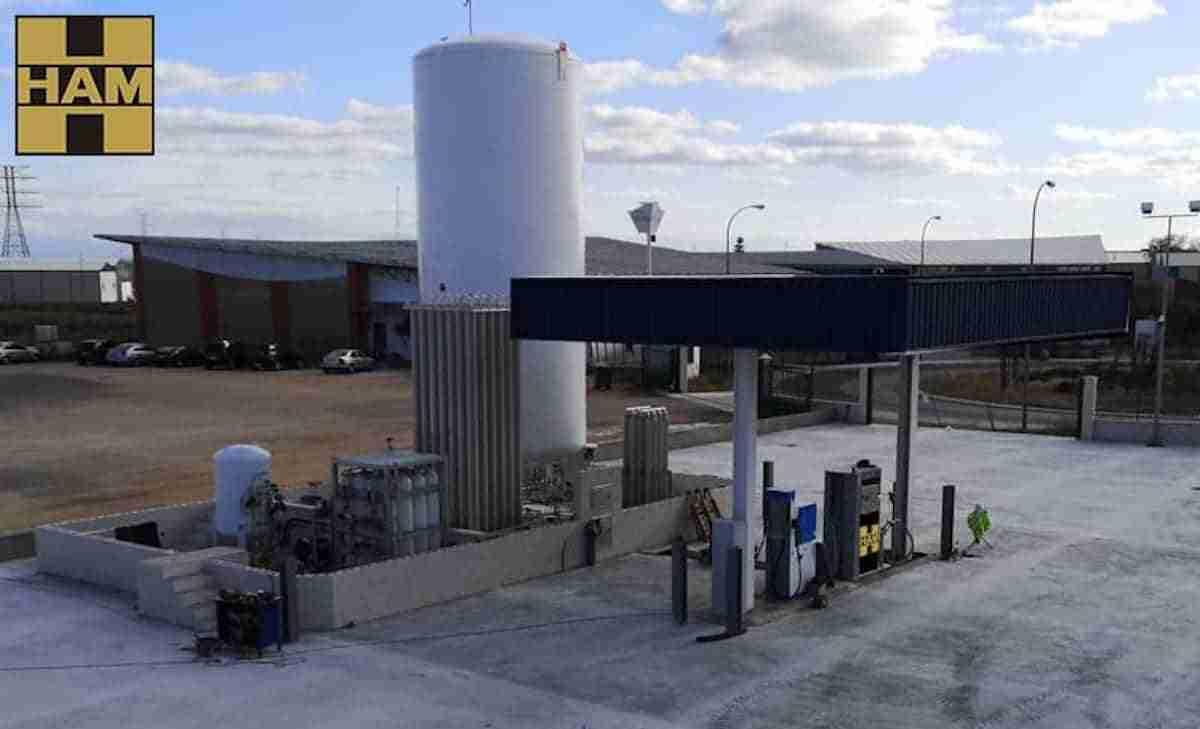 Grupo HAM y TRANSPORTES OJECHAR abren una Gasinera en Albacete
