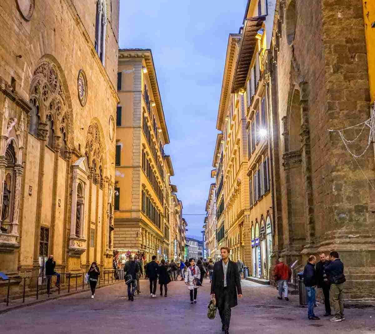 centro historico de florencia italia