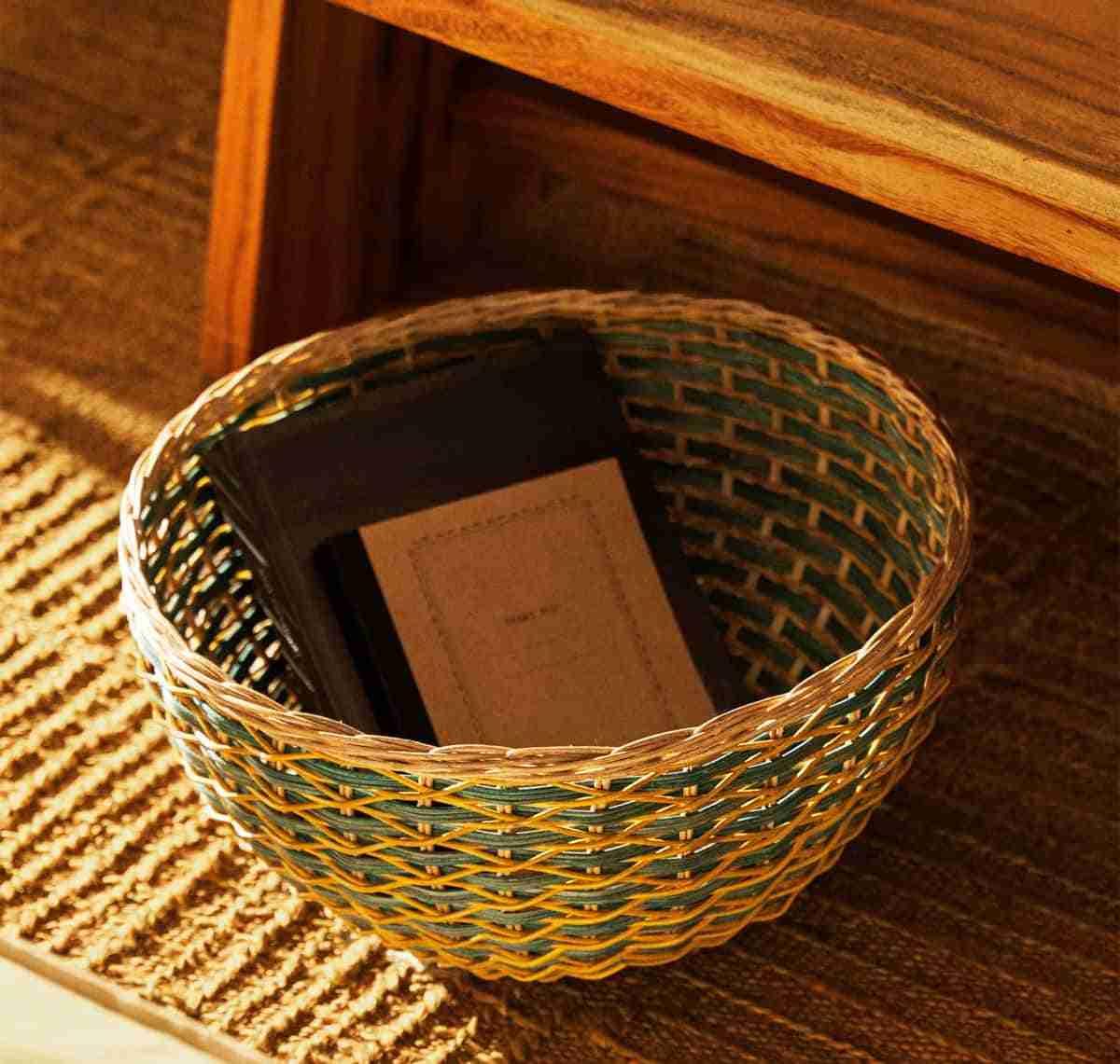 cestas de zara home tropical collection
