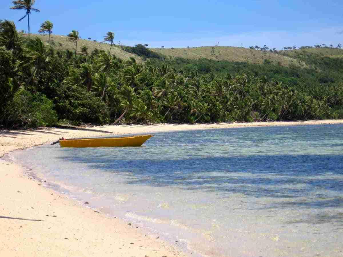 playas de islas fiyi