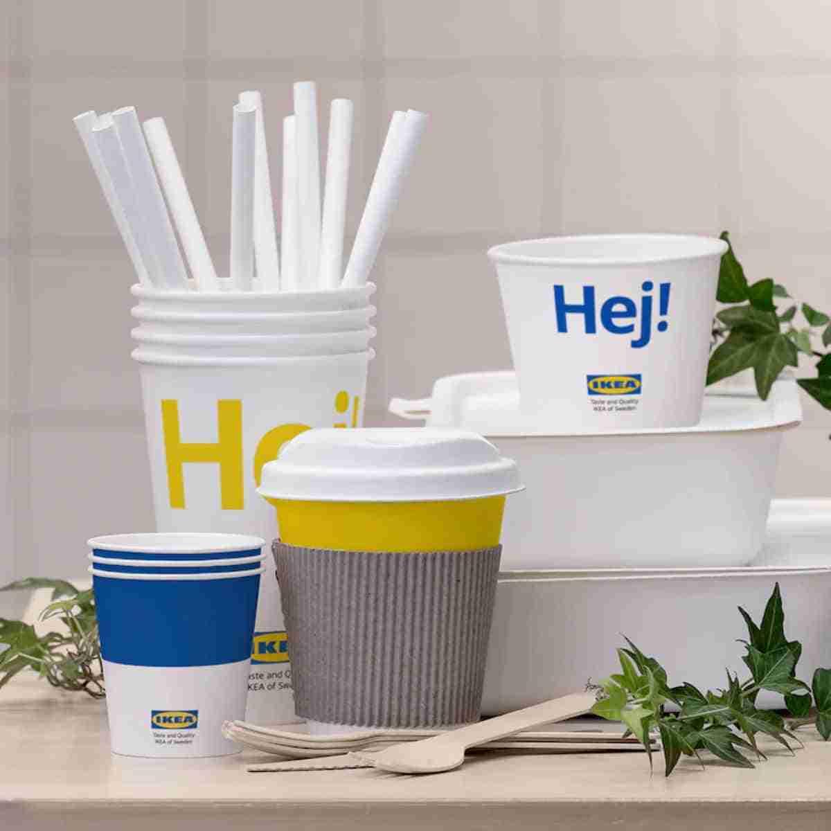 productos desechables sostenibles de ikea