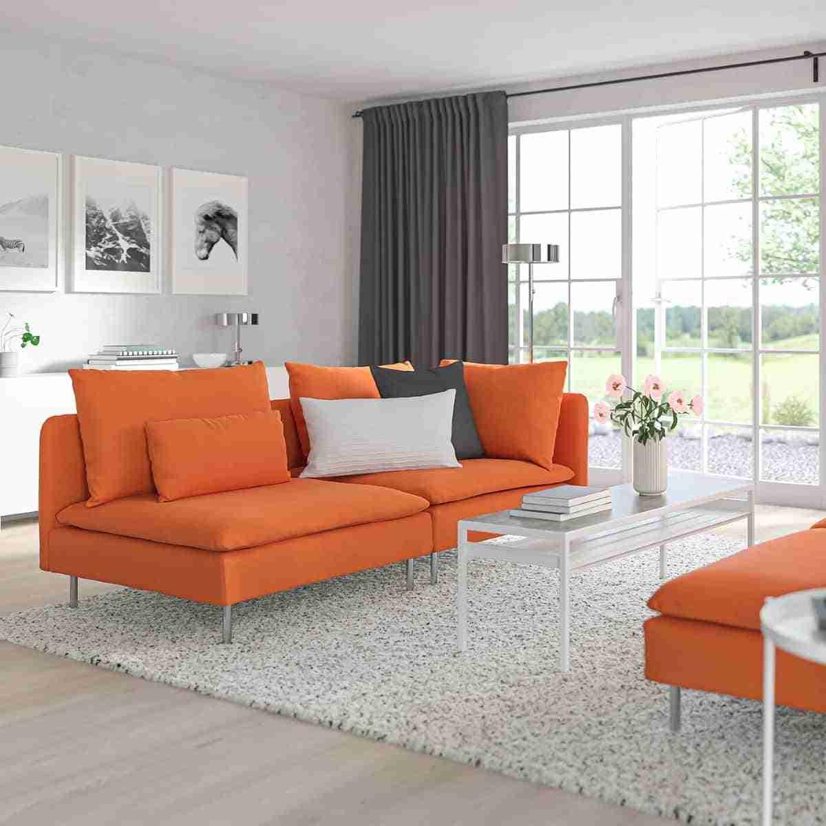 sofa de tres plazas de ikea