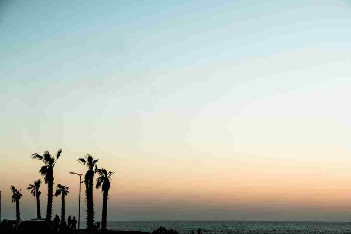 playa de rabat en marruecos