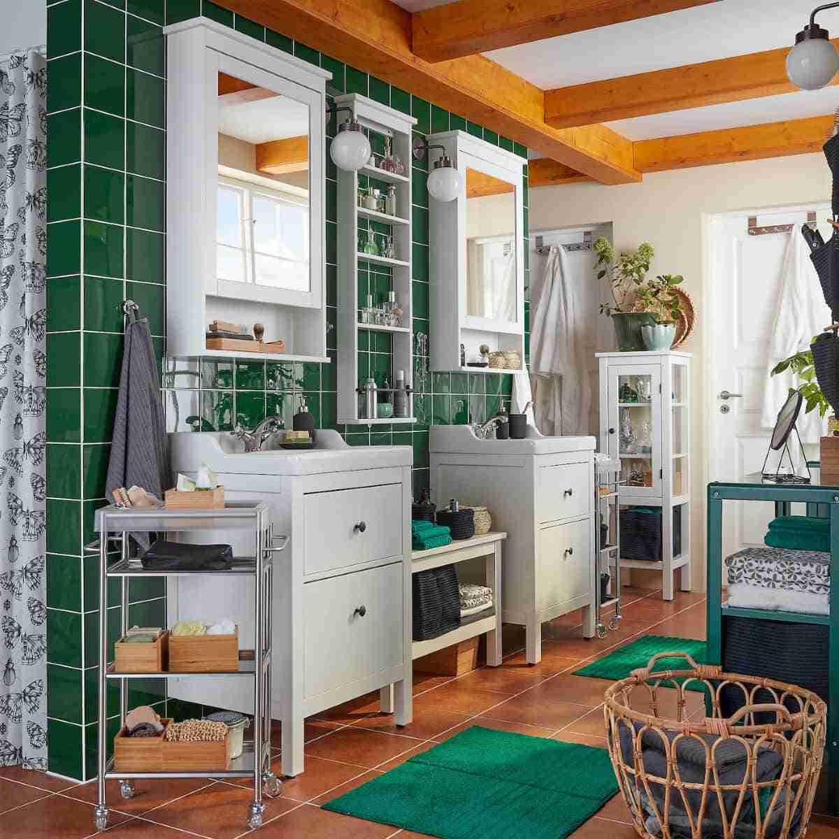 renovar tu bano con muebles ikea