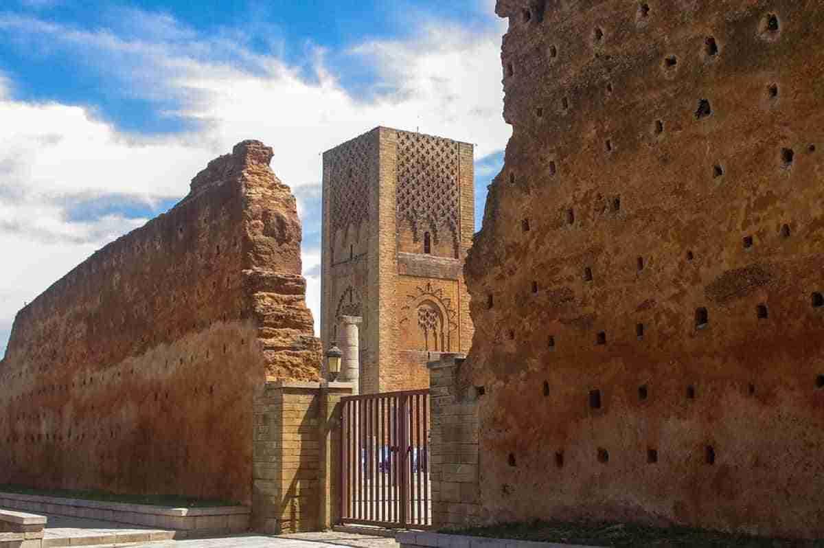 torre de hasan en marruecos