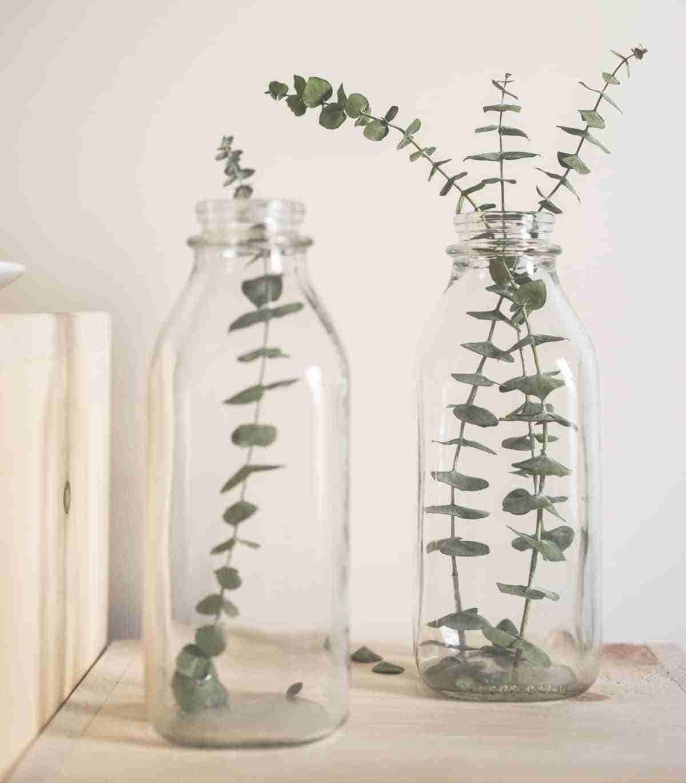 botellas recicladas para decoracion