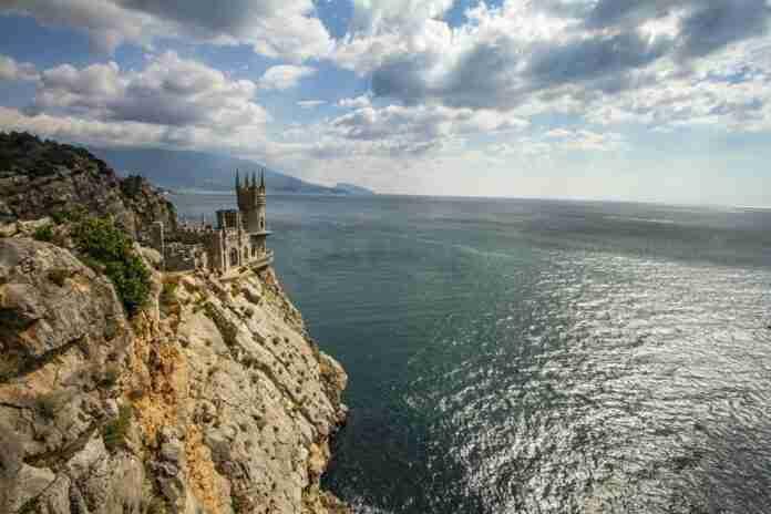 nido de golondrina en yalta