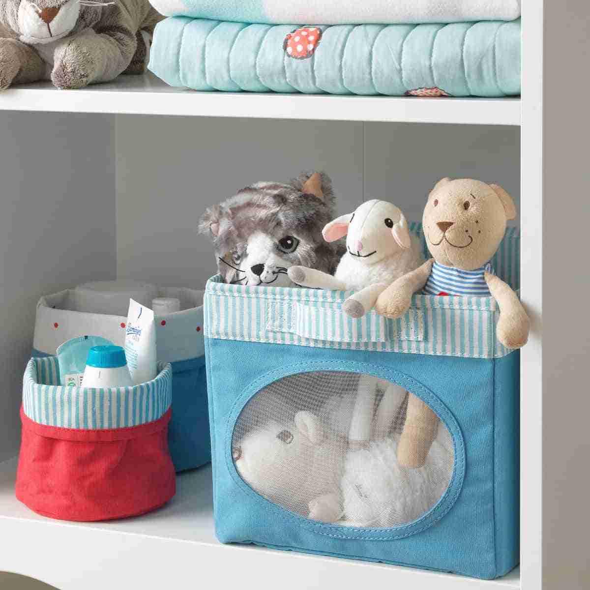 cestos para dormitorios infantiles