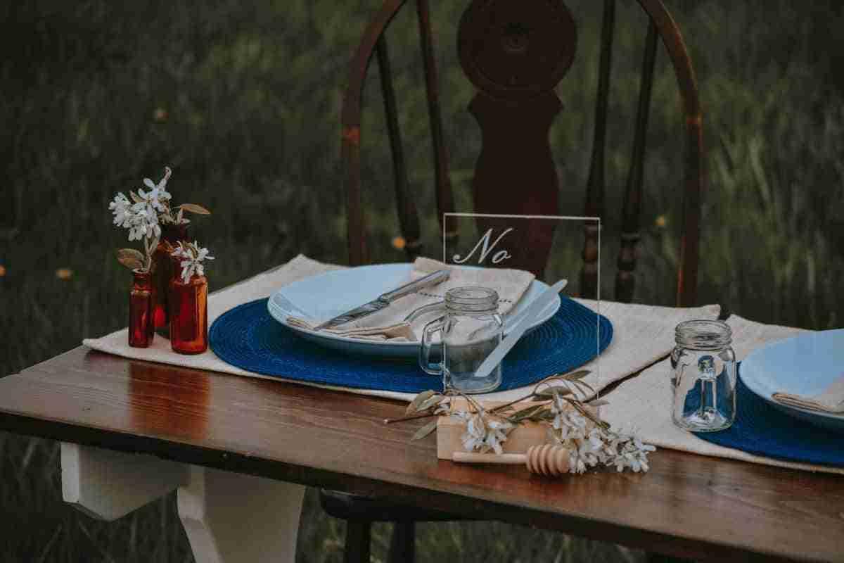 decoracion platos mesa boda