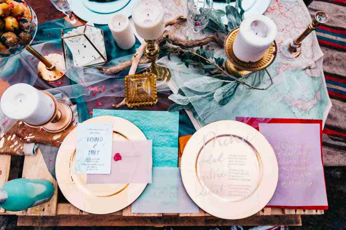 decoracion platos invitados