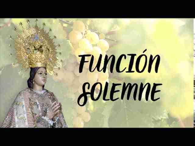 Fiestas Patronales de la Virgen del Rosario 2020