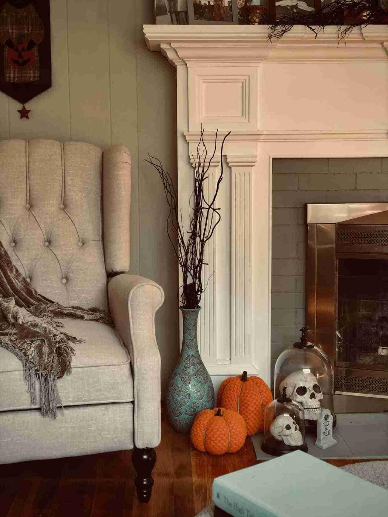 decorar el salon en halloween