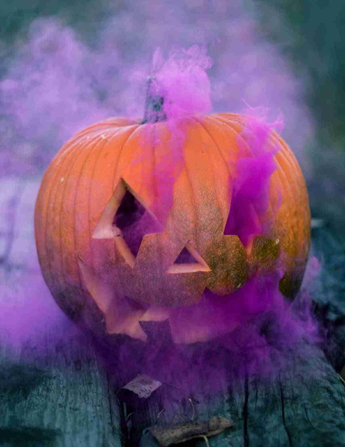 decorar halloween con calabazas