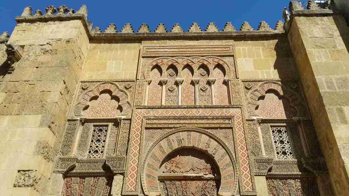 vista de la mezquita catedral