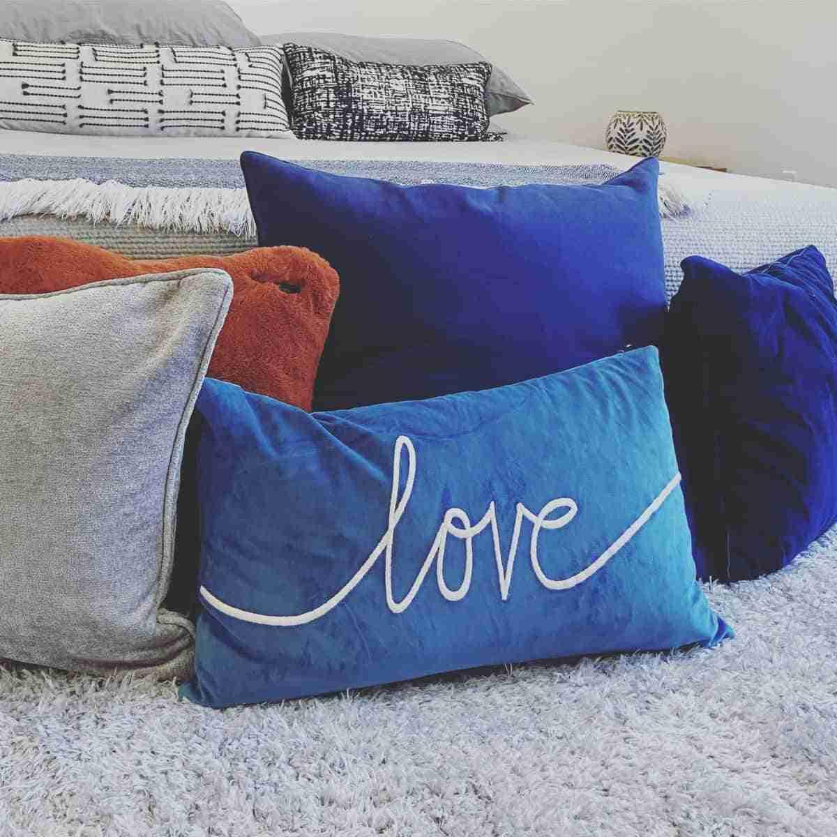 mantenimiento de las almohadas