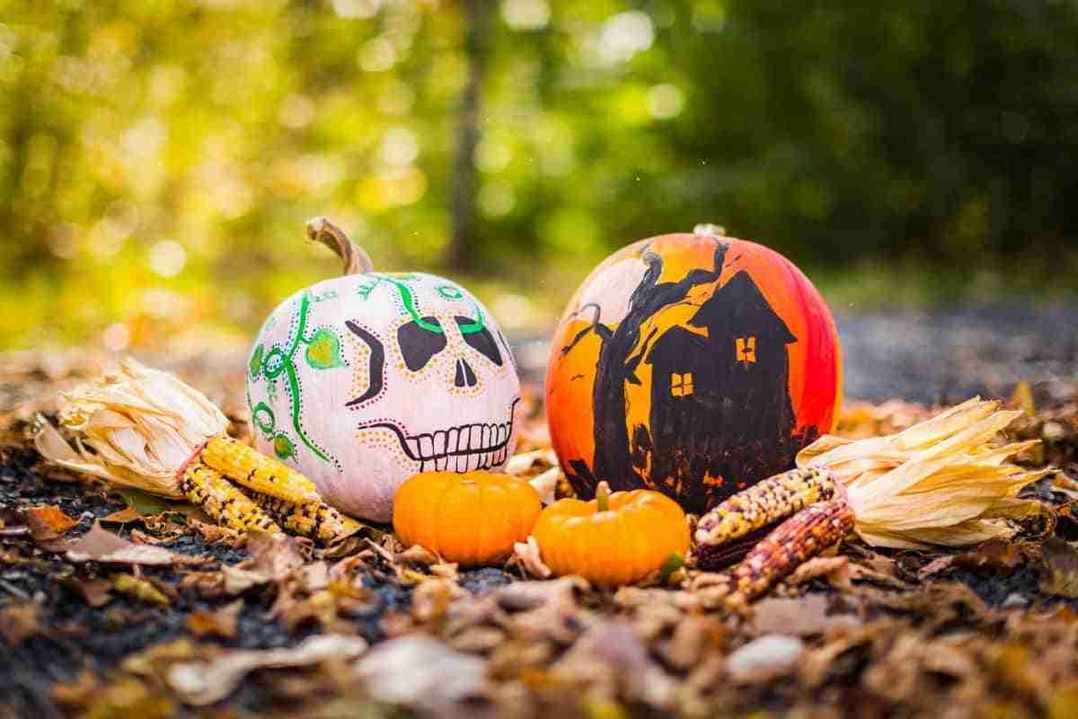 pintar calabazas de halloween