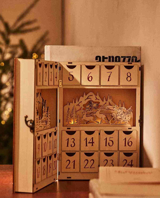 calendario adviento zara home detalle